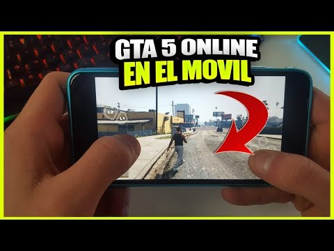 COMO JUGAR GTA 5 ONLINE PARA MOVIL (ANDROID & IPHONE) - DESCARGAR APLICACIÓN PARA MOVILES 2018