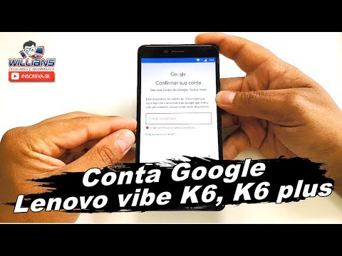 Como Remover Conta Google Lenovo Vibe K6 K6 Plus Desbloqueio