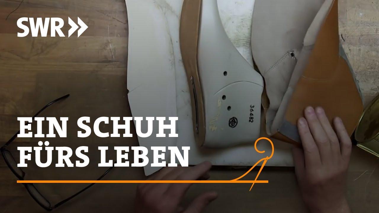 Handwerkskunst! Wie man einen Schuh fürs Leben macht | SWR ...