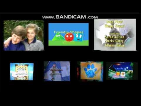 Barney, Blue's Clues, Bob, FS, Hanna-Barbera, M's TGDP, SS and VeggieTales Credits Remix