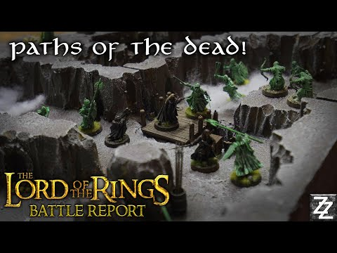 MOVIE LOCATION GAMING! ~ Paths Of The Dead Video Game Battle Report!