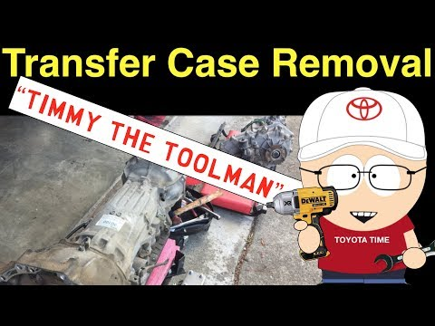 Toyota 4Runner Auto Trans Replacement (Part 1 of 3) - YouTube