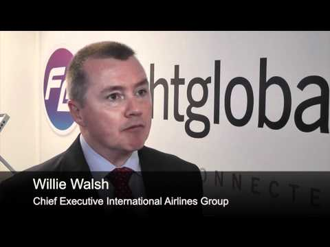International Airlines Group chief executive Willie Walsh