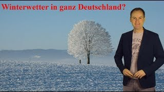 Schnee und Eis bis ganz runter! Setzt sich nun der Winter im ganzen Land fest? (Mod.: Dominik Jung)