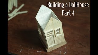 How to Make Popsicle Stick House - Series How to make a House with Popsicle Stick