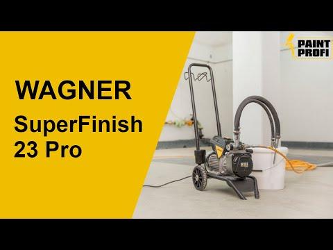 WAGNER SuperFinish 23 Pro Farbsprühsystem | Infos zum Farbspritzgerät | Paint-Profi