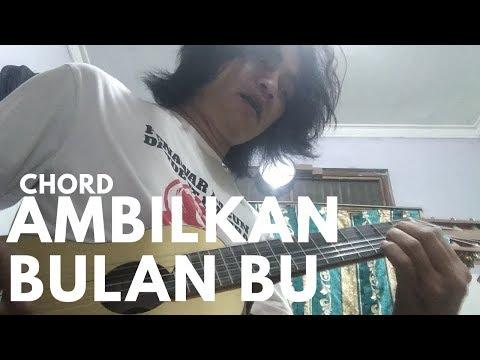 Ambilkan Bulan Bu - Lagu Anak | Guitar Cover & Chord