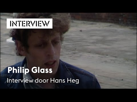 Philip Glass, interview door Hans Heg, Holland Festival 1975