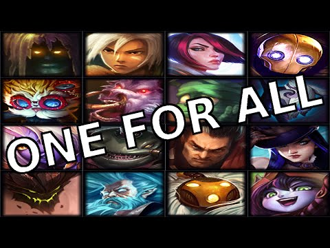 (+) All For One One For All