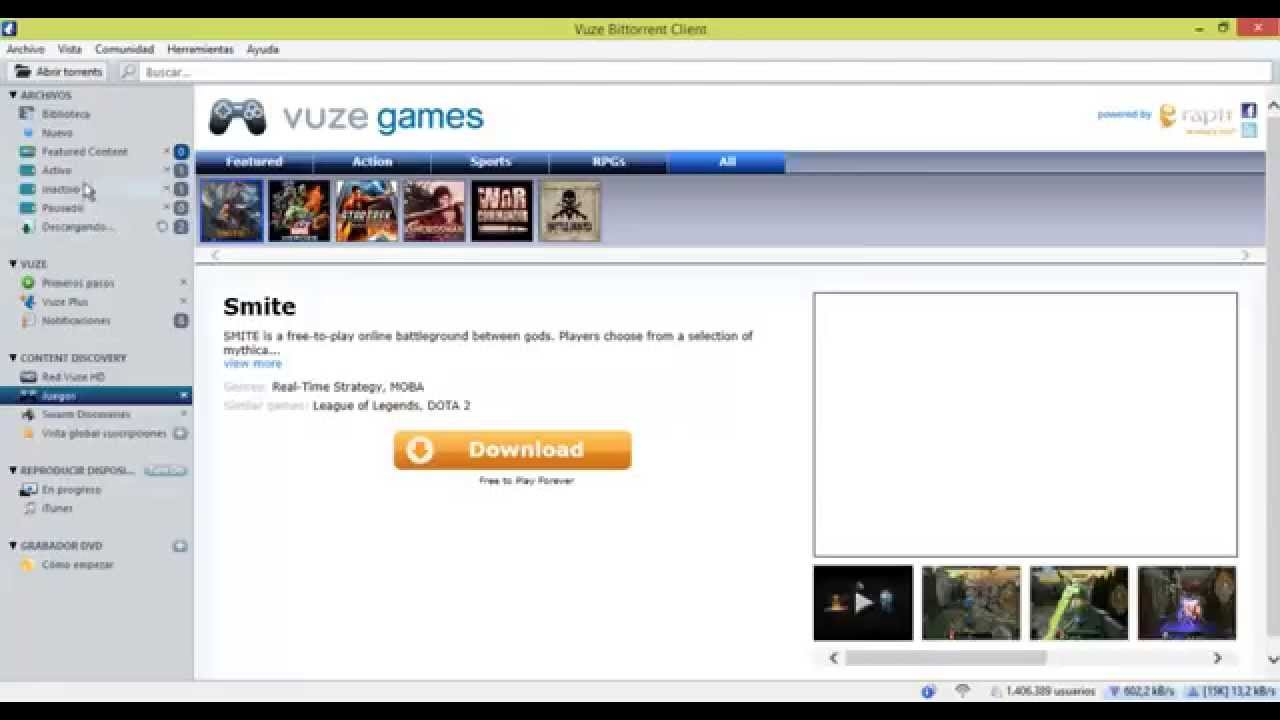 how to make vuze default downloader