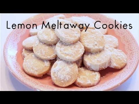 How to Make Lemon Meltaway Cookies! - YouTube