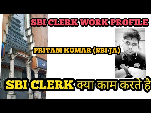 SBI CLERK Work Profile (Live Discussion)