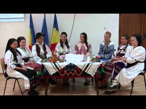 """Folk Costumes Around the Globe"" iEARN project celebration (Part I)"