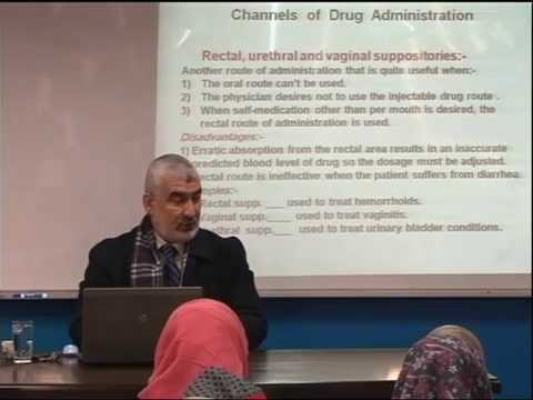 Lecture 6: Channels of Drug Administration