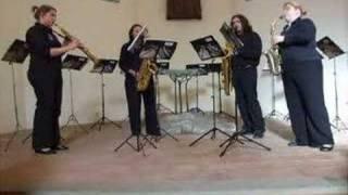 'Largo al Factotum Della Cittá' – sax quartet