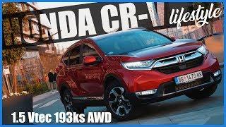 Test NOVE HONDE CR-V 1.5 Vtec 193ks CVT AWD lifestyle