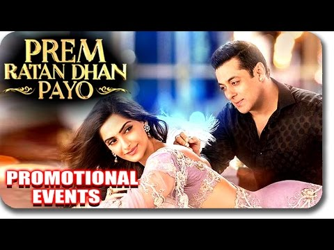 Prem Ratan Dhan Payo (2015) Movie Promotional Events | Salman Khan, Sonam Kapoor | Uncut