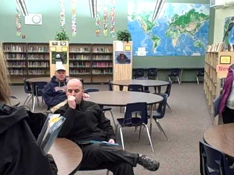Mountain View Whisman (MVWSD) Measure G Tour of Crittenden Middle School, January 23rd 2013