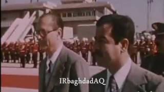 جاك شيراك يزور صدام حسين نادر جدا