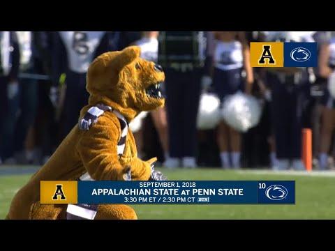 Appalachian State at Penn State: Week 1 Preview | Big Ten Football