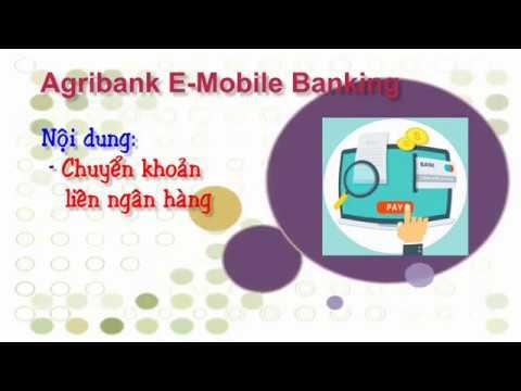 Chuyển Khoản Liên Ngân Hàng Trên Agribank E-Mobile Banking