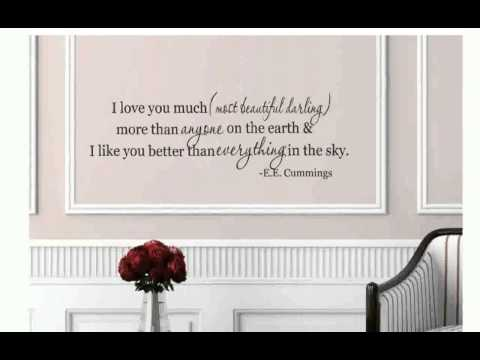 Wall Sayings Decals