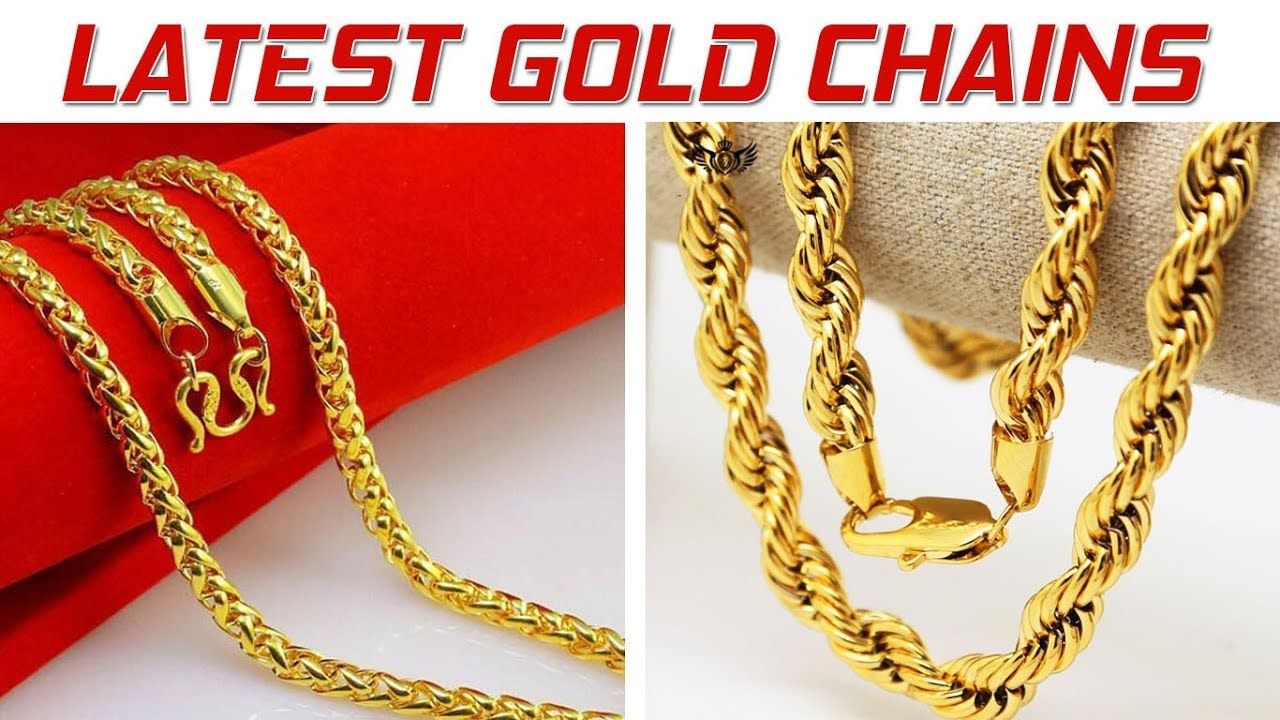 5db886d50f13 Best Latest Gold Chain Designs For Men Jewellery In
