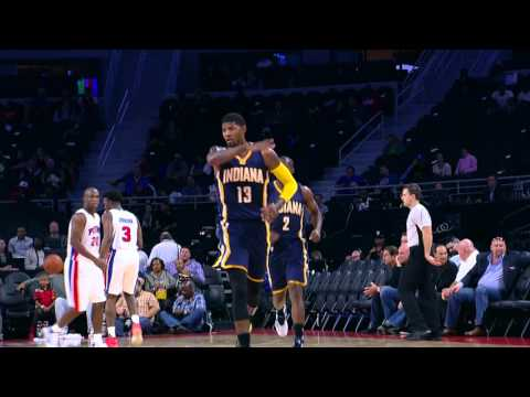 Paul George Scores 20 in First Quarter!