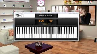Song From Secret Garden - Virtual Piano cover