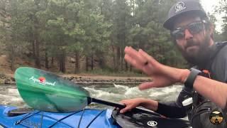 Eddyline Skylark Kayak & Aqua-Bound Whiskey Paddle