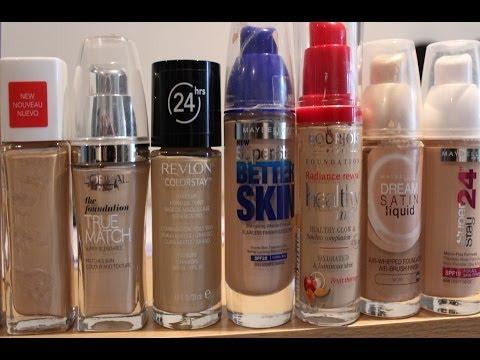 Best Drugstore Foundations For Dry/Flaky Skin