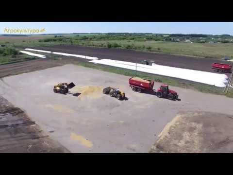 Grain storage at Agrokultura Company, Russia