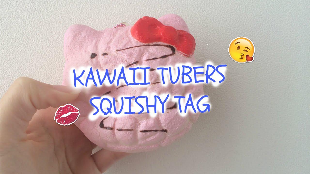 Kawaii Tubers Squishy Tag : Kawaii Tubers Squishy Tag! Cookielove ? - YouTube