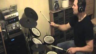 Bruce Dickinson - Tattooed Millionaire Drum Cover
