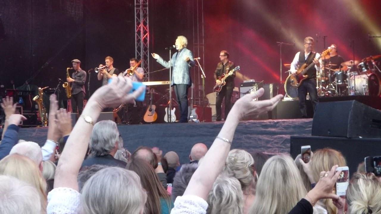 Tom Jones Delilah Uppsala, Sweden 2016, Aug 3