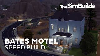 The Sims 4 Speed Build : Bates Motel