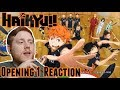 Haikyuu Opening Reaction