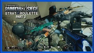 One Grenade in One Stall. (R6S: Strat Roulette #2 FUNTAGE)