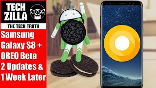 Samsung Galaxy S8 Plus Oreo Beta - All New Features - 1 Week Later Review