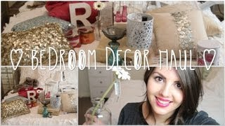 Decor Haul! | Bedroom Edition