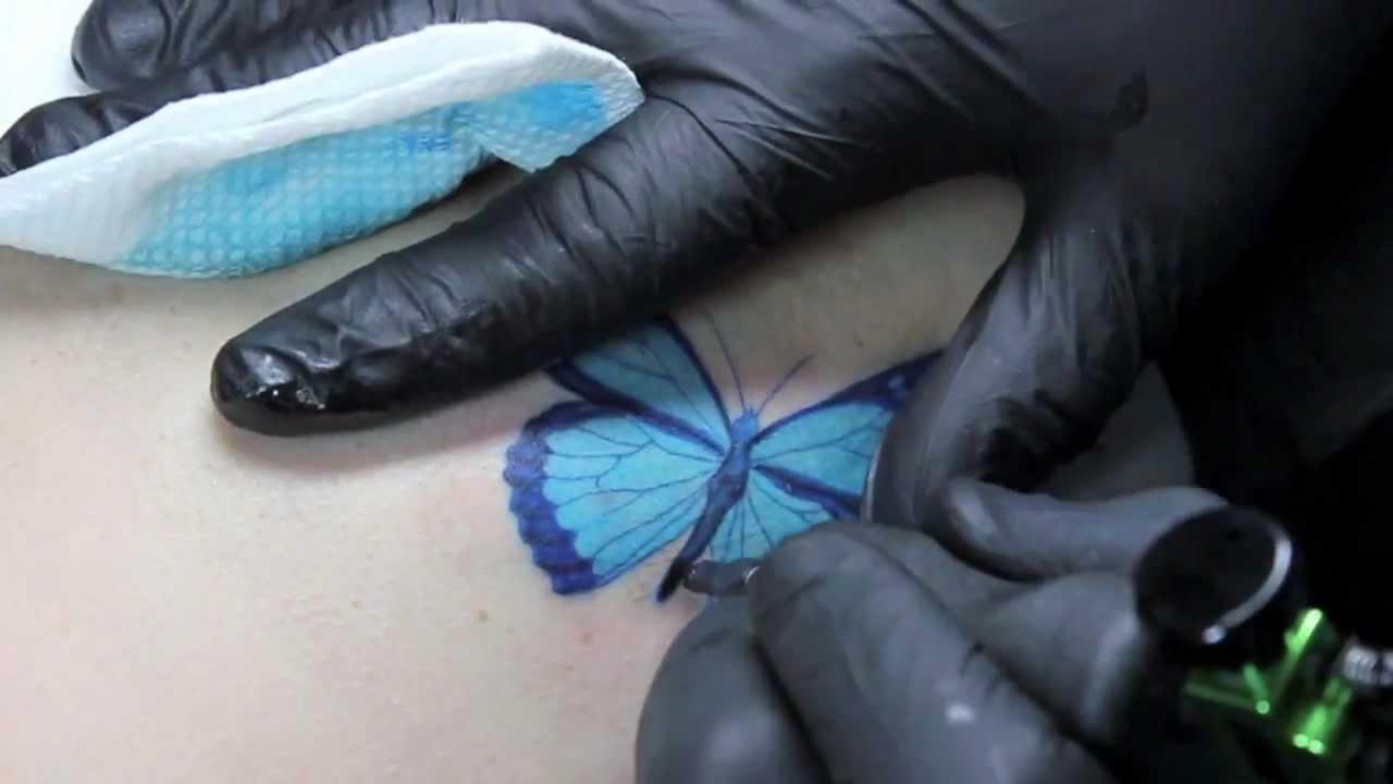 значение татуировки мотылек