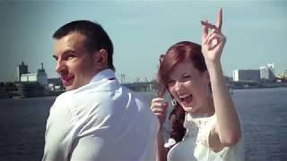 Свадьба 2 августа -прогулка на катере.видео от Варшавского