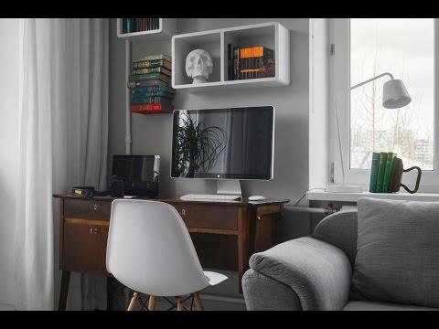 1 zimmer wohnung roomtour 1 zimmer wohnung kleine wohnung gestalten youtube. Black Bedroom Furniture Sets. Home Design Ideas
