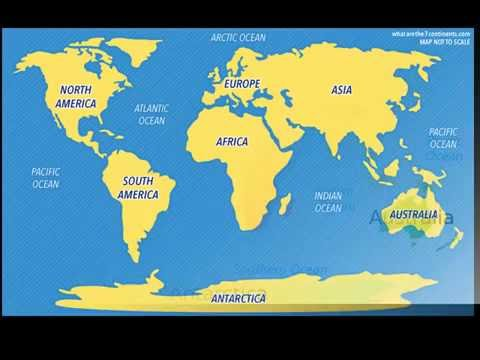 Easy way to remember World Map- Five Steps - YouTube