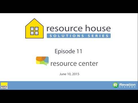 Resource House Solutions Series: Resource Center