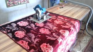 Apex Overdyed Vintage rugs Pile Shaving process