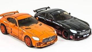 Трансформатори ТЛК фільм дрейф користувальницькі перефарбовувати Bludgon бенз AMG GT спортивний автомобіль робот іграшки