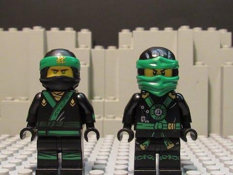Lego ninjago movie lloyd vs ninjago original lloyd - Ninjago vs ninjago ...