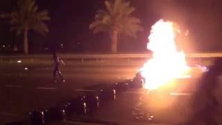 """ثوار البحرين ينفذون عملية """"الارداة الثورية"""" 22-1-2013"""