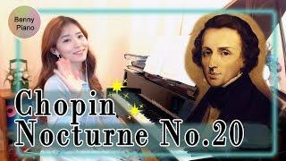 쇼팽녹턴20번/ Chopin Nocturne No.20 in C# minor / 쇼팽녹턴 유작 20번 - 베니피아노 Benny piano